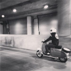 The Midnight Ride through Lower Wacker Drive. | Aug. 30, 2013 / PHOTO BY JULIE EGELAND