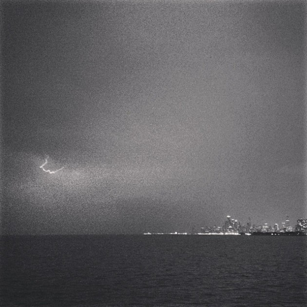 Taken from Montrose Harbor facing south. May 20, 2014. /PHOTO BY ALEX V. HERNANDEZ