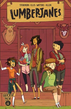 "Gagnon said BOOM! approached ""Lumberjanes"" co-creator Noelle Stevenson after reading her webcomic."