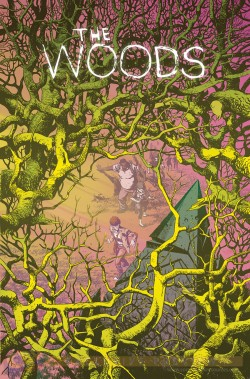 "James Tynion IV said ""The Woods"" is ""all of the things I'm interested in as a writer in one, singular series."""
